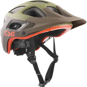 TSG Seek Graphic Design casco per bici marrone/verde oliva